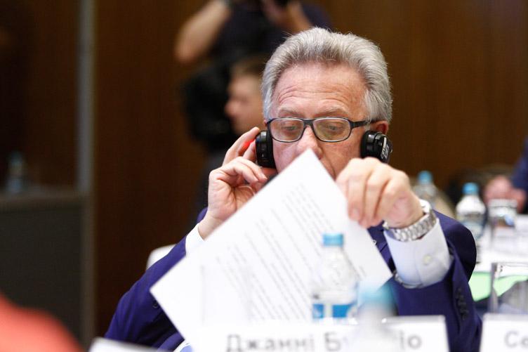 Джанні Букіккіо перекладу документа українською, звісно, не читав, але схвалює.